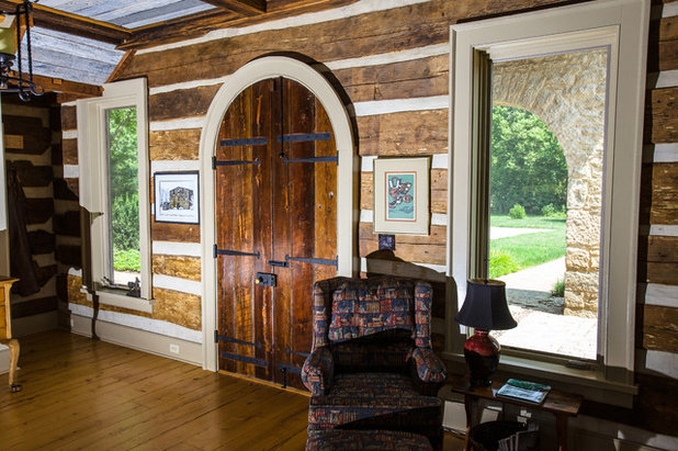 Nice Rustic Entry by Wilmes u Associates Architects