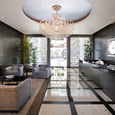 Modern Hall by Ted Maines Interiors