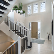 Contemporary Entry by Morrison Homes