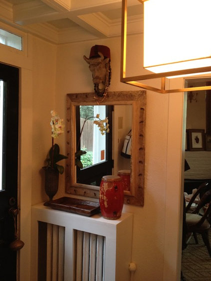 Eclectic Entry by Colman Riddell Interiors