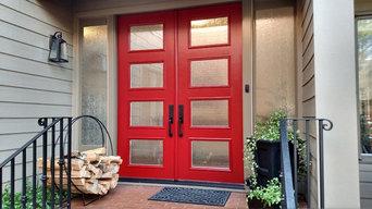 ThermaTru Pulse Fiberglass Door