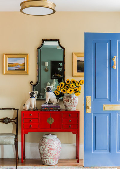 Traditional Entry by Kathy Marshall Design