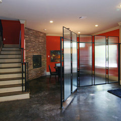 contemporary entry by Modern Craft Construction, LLC