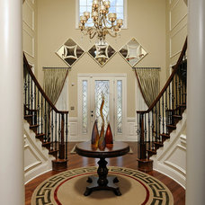 Traditional Entry by Paula Grace Designs, Inc.