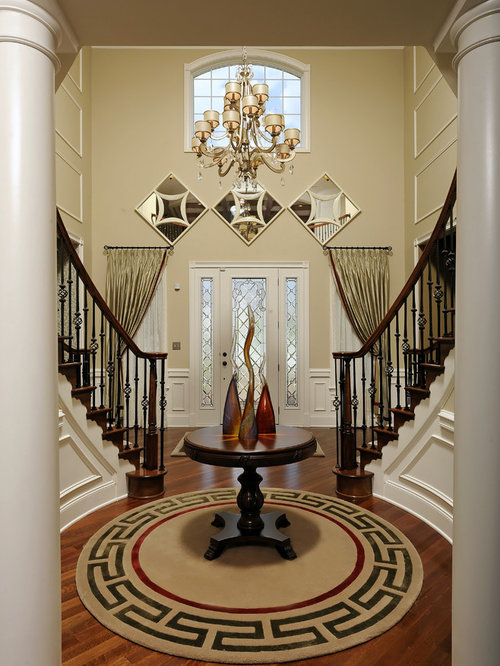 Rotunda foyer home design ideas pictures remodel and decor