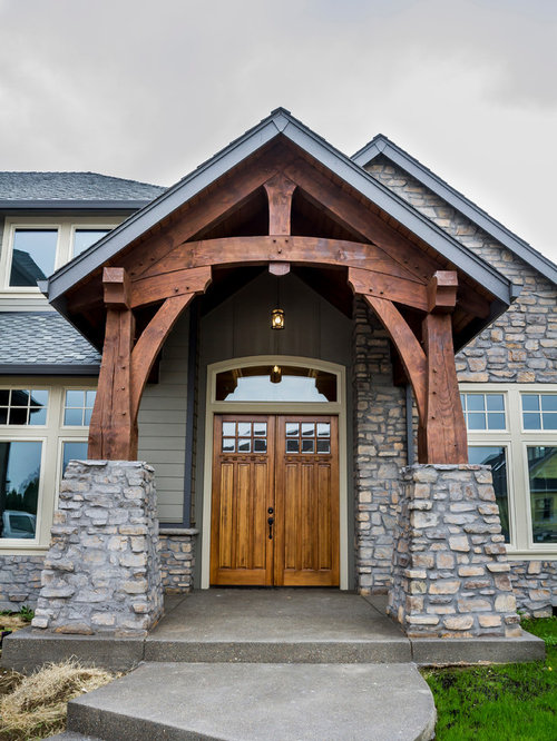 Timber Frame Entryway Ideas Pictures Remodel And Decor