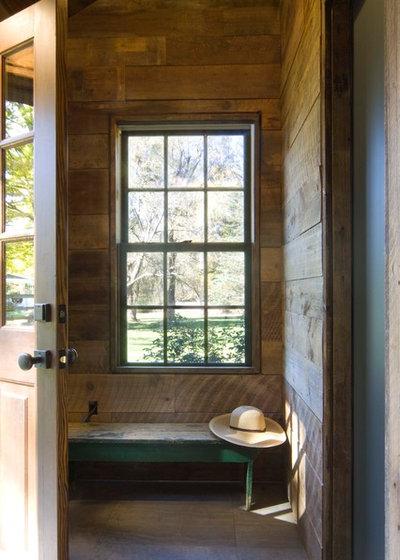 home office mit dachfenster ideen bilder, scandi-chic im hudson valley – ein stall wird zum home-office, Design ideen