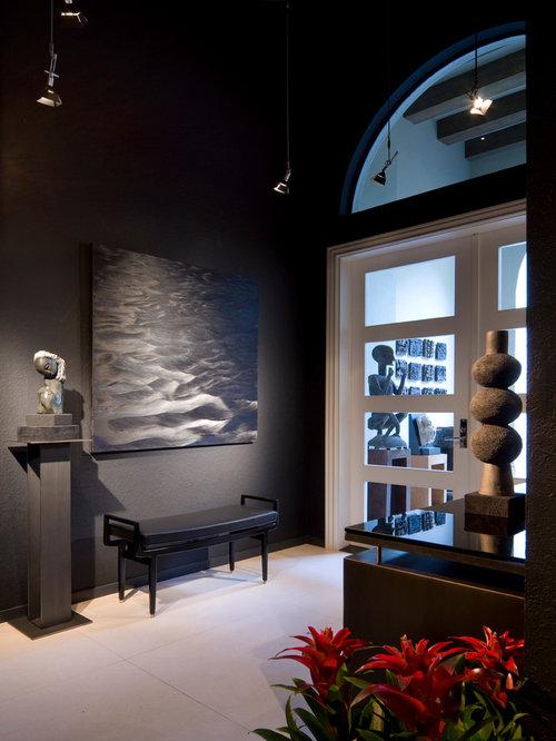 Foyer Room Escape : Gray foyer houzz