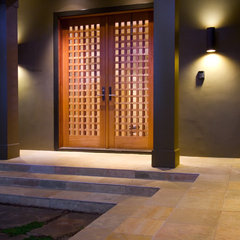 contemporary entry by Simpson Design Group Architects
