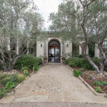Toro Canyon Tuscan Style Pool and Landscape | Santa Barbara CA
