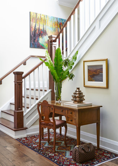 Traditional Entry by Toronto Interior Design Group | Yanic Simard