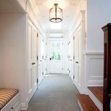Traditional Entry by Heintzman Sanborn Architecture~Interior Design