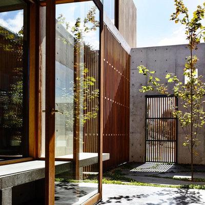 Minimalistisch Eingang by Auhaus Architecture