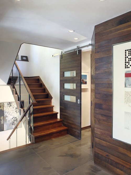 Inspiration For A Contemporary Entryway Remodel In Denver