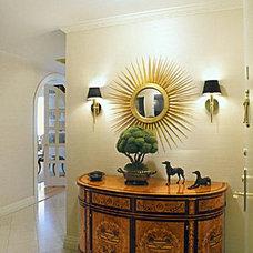 Eclectic Entry by Tobin + Parnes Design Enterprises