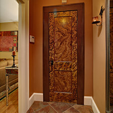 Eclectic Entry by Tracey Stephens Interior Design Inc