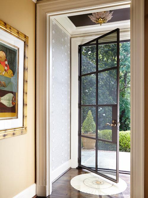 kleiner klassischer eingang hauseingang eingangsbereich gestalten. Black Bedroom Furniture Sets. Home Design Ideas
