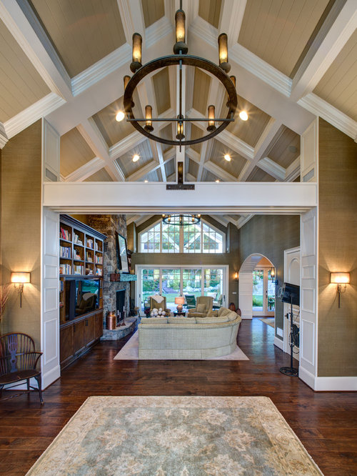 Foyer Architecture Quiz : Cape cod foyer entryway design ideas remodels photos