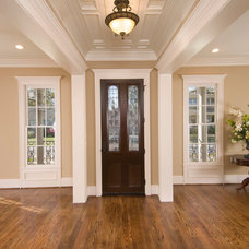 Traditional Entry by Whitestone Builders