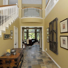Traditional Entry by Carla Aston | Interior Designer
