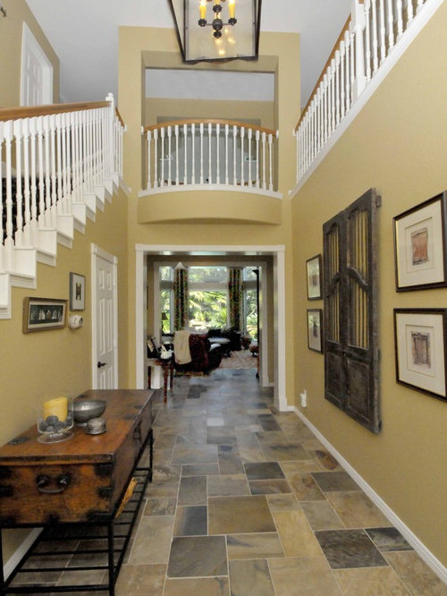 Houzz Foyer Tile : Indian autumn home design ideas pictures remodel and decor
