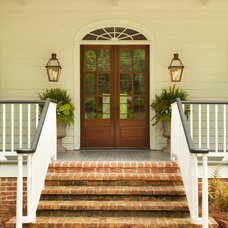 Traditional Entry by Clark & Zook Architects, LLC