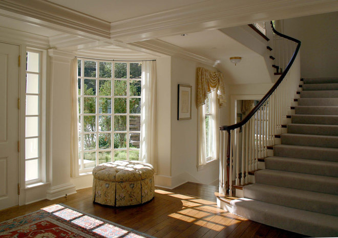 Traditional Entry by Conard Romano Architects