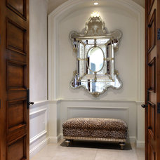 Traditional Entry by Davis Design