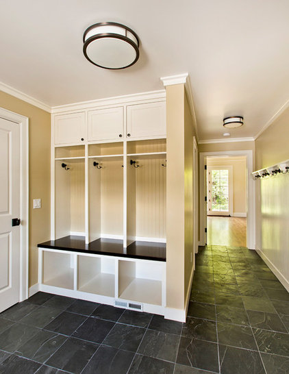 Traditional Entry by Duxbury Architects