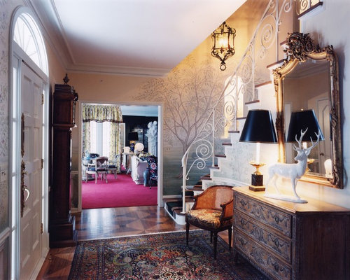 Small Foyer Ideas Houzz : Small foyer chest home design ideas pictures remodel and