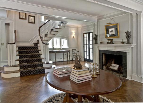 Traditional Entry by Kim E Courtney Interiors & Design Inc