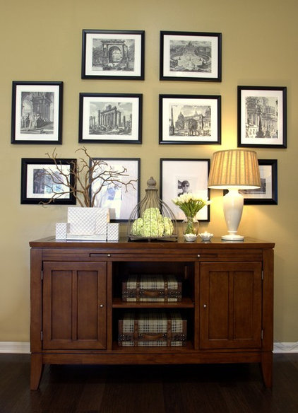 Traditional Entry by IN Studio & Co. Interiors