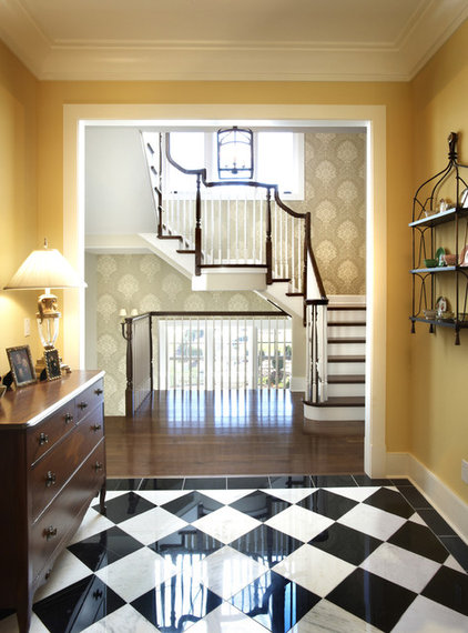 Traditional Entry by Kristin Petro Interiors, Inc.