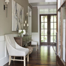 traditional entry by Linda McDougald Design | Postcard from Paris Home