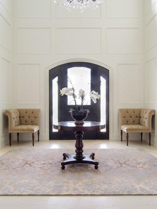 Elegant Foyer Rugs : Foyer chair houzz