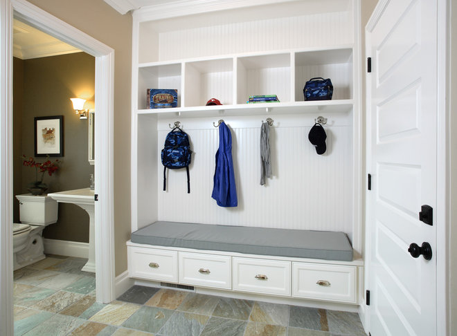 Traditional Entry by Precision Cabinets