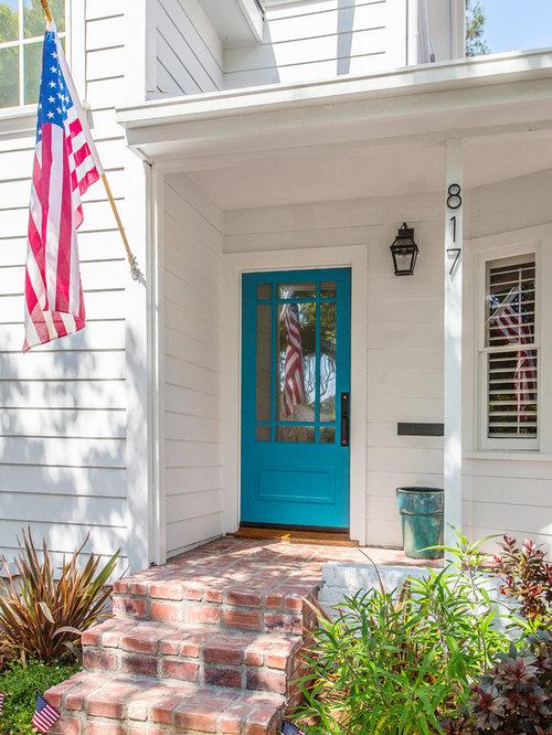 turquoise front doorTurquoise Front Door  Houzz