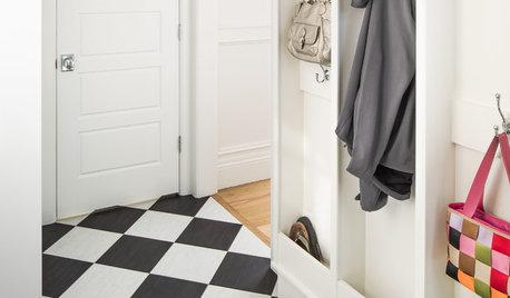 Как выжить в квартире с крошечной или не существующей прихожей