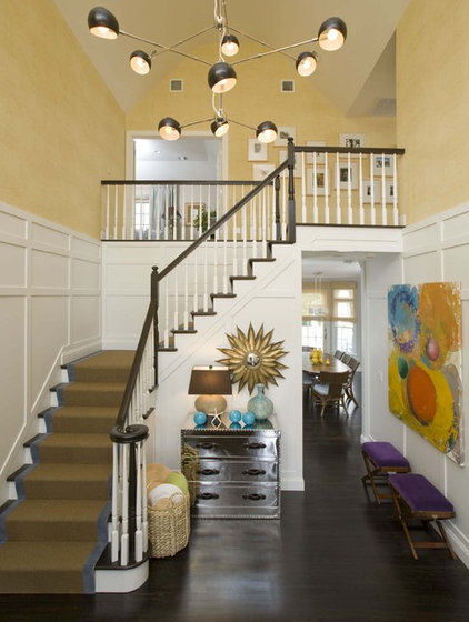 modern entry by Willey Design LLC