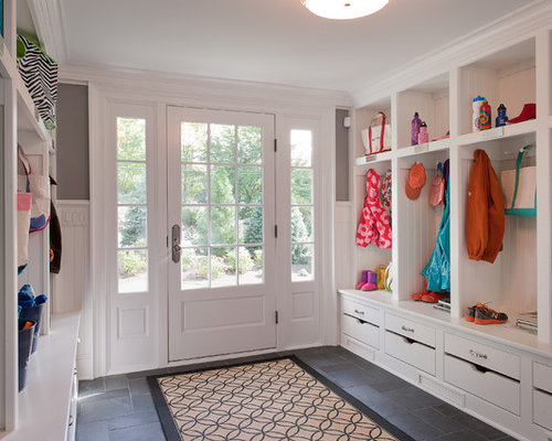 Entryway lockers home design ideas pictures remodel and Hallway lockers for home