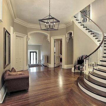 Traditional Foyer Lighting