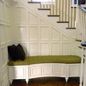 Traditional home modernized