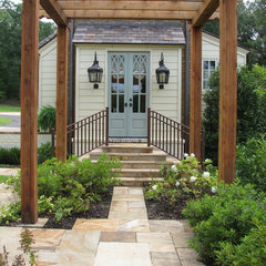 traditional entry by Jennifer Estes Interior Design