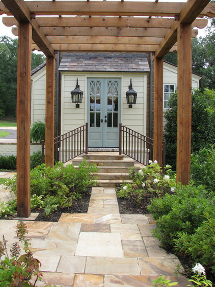Traditional Entry by Jennifer Estes Interior Design
