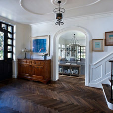 Traditional Entry by Candelaria Design Associates