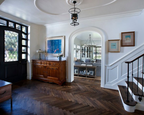 Herringbone Pattern Wood Floor Houzz