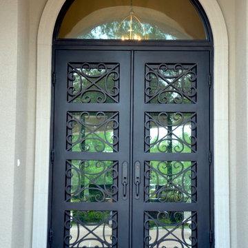 Traditional Iron Doors