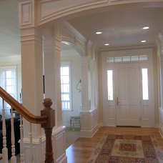 Traditional Entry by Master Woodworks inc
