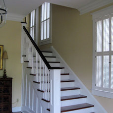 Traditional Entry by Horizon Interior Shutters