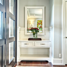Transitional Entry by Rockwood Custom Homes